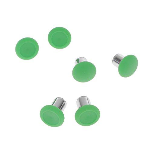 B Blesiya 6X Grips cap per Controller Xbox One Dimensioni: 15x10mm - Verde