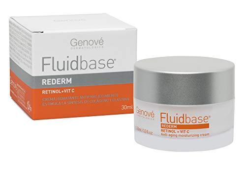 Genové Fluidbase Rederm Crema con Retinol y Vitamina C, envase con 30 ml