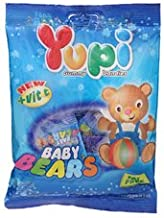 Yupi, Gummy Candies, Baby Bears, 120 g [Pack of 2 pieces]