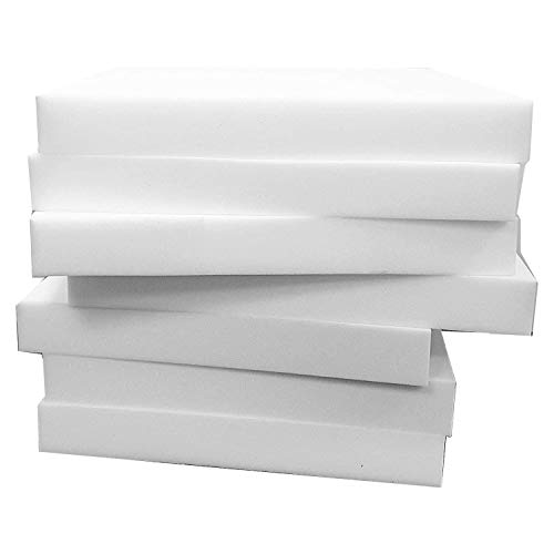 Upholstery Foam - High Density Foam Cut To Any Size Foam Sheet Firm For Dining Chairs , Cushion Inserts, Seat, Outdoor Cushions, Furniture Pads, Garden Chair, Stool, Expanding Foam (22'x22'x1')