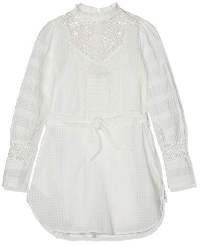 Scotch & Soda R´Belle Mädchen Kleid, Elfenbein (Off White 00), 140 (Herstellergröße: 10)