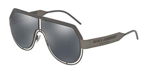 Dolce & Gabbana 0DG2231 Gafas de Sol, Matte Dark Gunmetal, 59 para Hombre