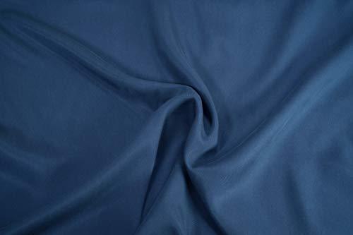 Mollipolli Gabardine - Tela de Rizo (0,5 m), Color Azul
