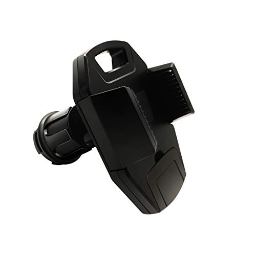 OYEFLY mobile phone holder compatible with Smart Model 453 Forfour Fortwo | Universal holder for smartphone, GPS & tablet | 360 adjustable for optimal view Car phone holder (Black)