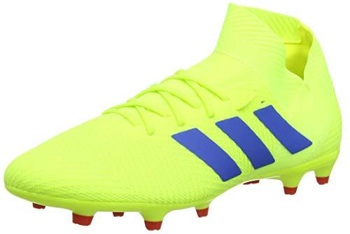 adidas Herren Nemeziz 18.3 FG Fußballschuhe, Gelb Solar Yellow Football Blue Active Red Solar Yellow Football Blue Active Red, 42 2/3 EU