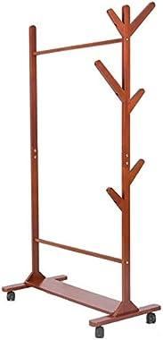 YMJ Coat Rack Hall Trees Coat Hat Rack Free Standing Clothes Stand with Hooks Hat Coat Rack Floor Hanger Entryway Organizer U