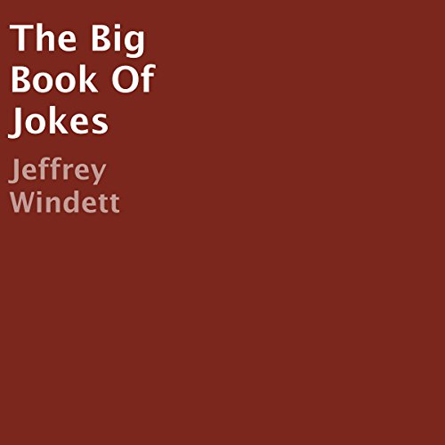 The Big Book of Jokes audiobook cover art