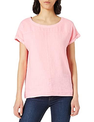 Cecil Damen 342449 Bluse, Soft neon pink, L