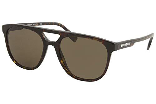 BURBERRY Gafas de Sol BE 4302 HAVANA/BROWN 56/18/145 hombre