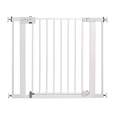 Safety 1st Easy Install Auto-Close Baby Gate with Pressure Mount Fastening, White from Safety 1st