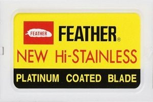10 Feather New Hi-Stainless Rasierklingen - Erstelle deine Auswahl