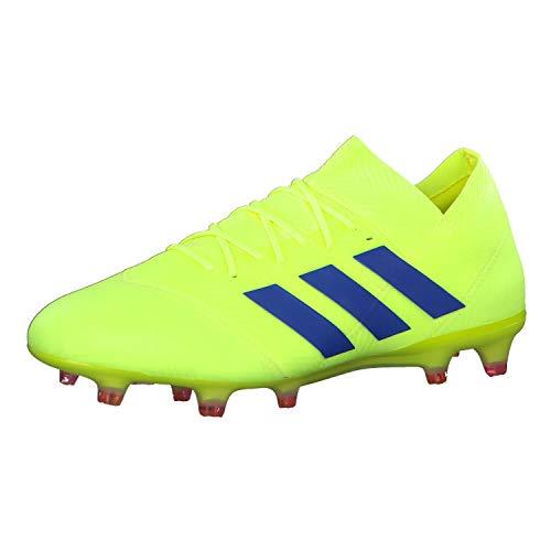 adidas Nemeziz 18.1 Fg, Scarpe da Calcio Uomo, Giallo (Solar Yellow/Football Blue/Active Red Solar Yellow/Football Blue/Active Red), 46 2/3 EU