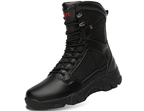 IYVW 5.AA A003 Bottines Homme Boots Biker Bottes...