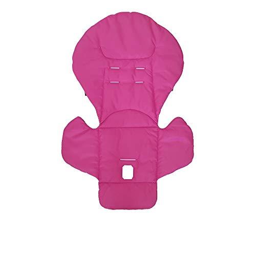 Aveanit Peg Perego Prima Pappa Diner - Funda para trona (100% algodón), color rosa oscuro