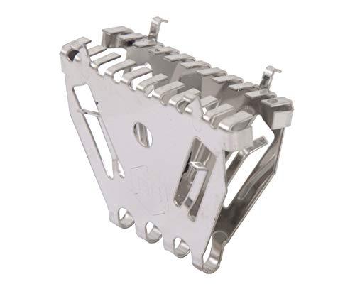 Gah-Alberts 336639 - Ventola di protezione per topi e vespe, in acciaio INOX, 50 mm, set da 10 pezzi