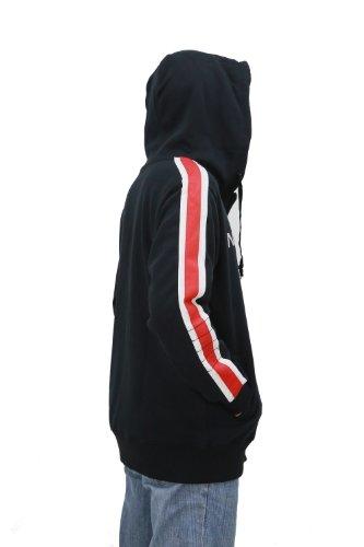 Mass Effect Game Costume Cosplay N7 Hoodie Jacket Sweatshirt Updated Version in Size L Black