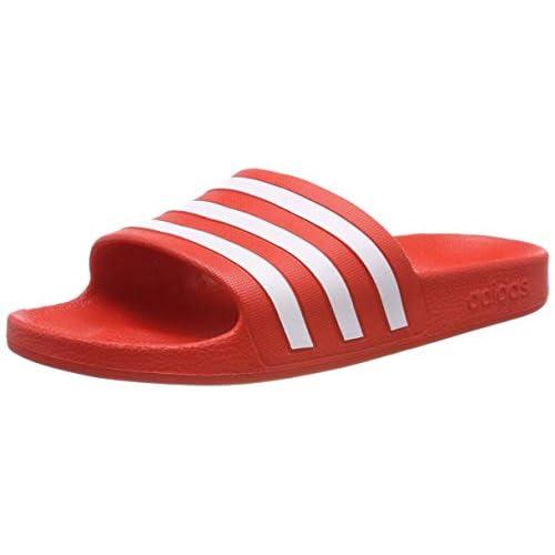 Adidas Adilette Aqua Scarpe da Spiaggia e Piscina Unisex - Adulto, Multicolore (Multicolor 000), 42 EU (8 UK)