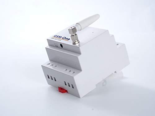 GSM SMS Fernschalter und Temperaturwächter, DIN-Rail, mit Alarmfunktion, Mobil Schalten, Smart Home, DRH-301-DIN