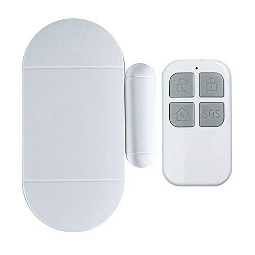 Review QBQCBB Household Anti-Theft Alarm Multi-Function Door and Window Alarm Remote Magnetic (White...