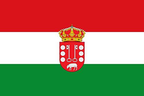 magFlags Bandera Large Municipio de Rozas de Puerto Real Comunidad de Madrid | Bandera Paisaje | 1.35m² | 90x150cm
