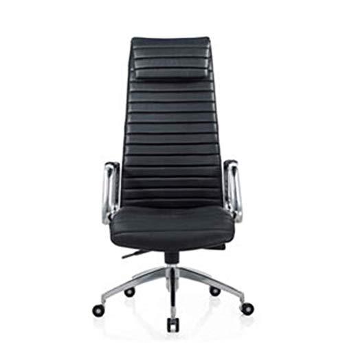 Stijlvolle Persoonlijke Baas Stoel, Eenvoudige Moderne bureaustoel Ergonomische Draaibare Stoel Kruk Retro size Zwart