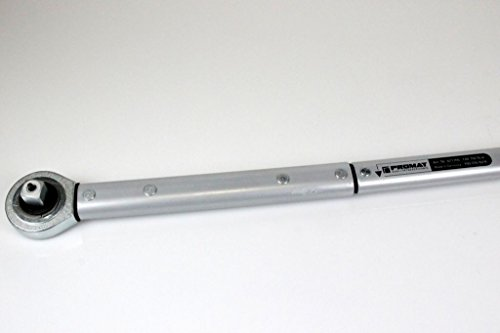 Rahsol 821706 Drehmomentschlüssel,Arbeitsbereich: 140-750 Nm  100-550 lbf.ft.,Antriebsvierkant Zoll: 3/4