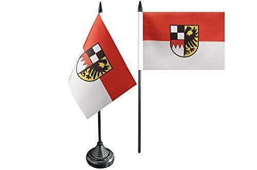 Flaggenfritze® Tischflagge Deutschland Mittelfranken - 10 x 15 cm