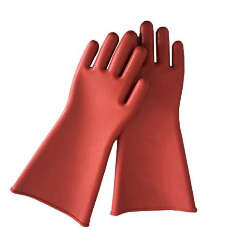 Gloves FANGQIAO SHOP Flache Isolationshandschuhe Arbeitsschutz Handschuhe Aus Naturlatex Gartenarbeiterbauer Mechaniker