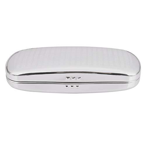 Senmubery Estuche de Anteojos,Caja de Aluminio de Las Gafas de Shell Duro Caja de Gafas a Rayas
