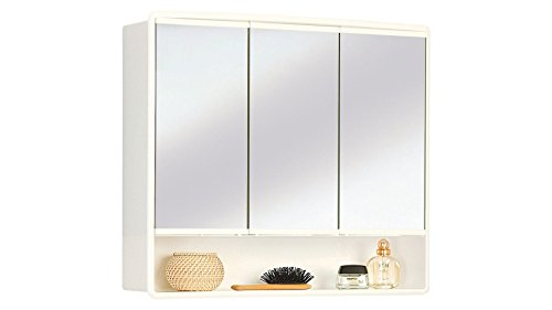 Jokey - Armadietto a specchio Lymo, colore: Bianco