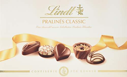 Lindt Lindt Pralinés Für Kenner Classic, Auswahl an beliebten klassischen Pralinen, 7 unterschiedliche Sorten, 2er pack (2 x 125 g)