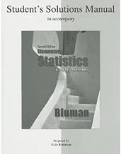 Best elementary statistics bluman 7th edition solution manual Reviews