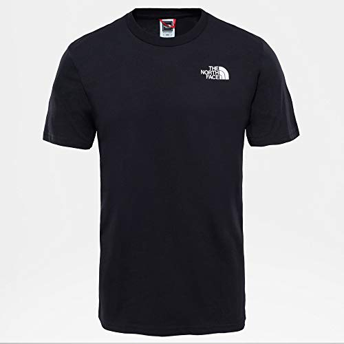 The North Face M S/S Simple Dome Te T-Shirt, Uomo, Fiery Red, S