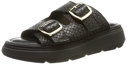 Tamaris Damen 1-1-27210-36 Sandale, Flip-Flop, black, 38 EU