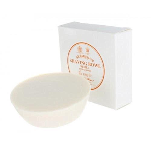 D. R. HARRIS Sandalwood Triple-Milled Shaving Soap Refill 100g