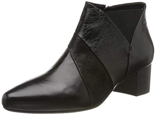 Gerry Weber Shoes Terrassa 04, Botines para Mujer, Negro (schwarz MI42 100), 42 EU / Taille US 9
