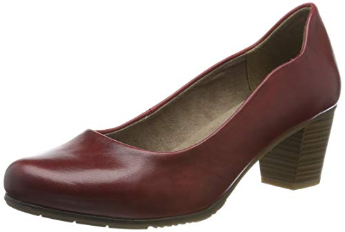 Jana 100% comfort Damen 8-8-22404-23 Pumps, Rot (Chili 533), 38.5 EU