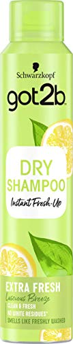Schwarzkopf Got2B Fresh It Up Shampoo Secco Extra Fresh, Freschezza Istantanea, Fragranza Agrumata, senza Residui - 200 ml