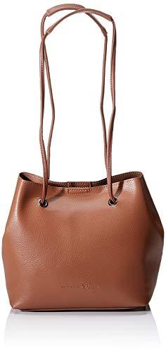 TOM TAILOR Umhängetasche Damen Aurelie, Braun (Cognac), 25x22x17.5 cm TOM TAILOR Handtaschen Damen, Taschen für Damen, Beutel
