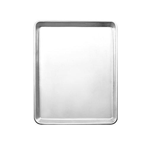 Excellanté ALSP1826H 18' X 26' Full Size Aluminum Sheet Pan, 16 Gauge, Silver