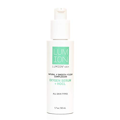 LUMIONskin Oxygen Serum for Bright And Youthful Skin - Reduces Redness and Fine Lines - Anti Aging Serum with Hypochlorous Acid - Perfect Serum for All Types of Skin - 1.7 fl oz / 50 ml
