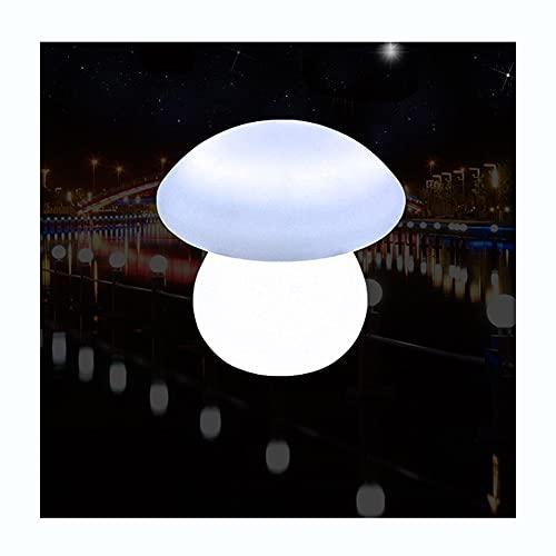 DEWUFAFA Luz de la noche de la seta LED, Lámpara de mesa bajo consumo de energía, Sueño relajante, Música de tiempo de la aplicación Rhythm Alexa Control de voz Lámpara inteligente Lámpara de cama Lám