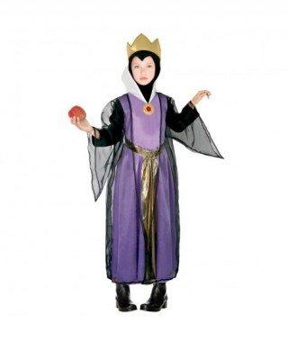Partilandia Disfraz Reina Malvada para niña (2-4 años) 21100 - Disfraz Madrastra Reina