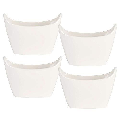 Villeroy & Boch 10-4189-7530 Bol pour Pommes de Terre BQB Porcelaine Blanc 23,4 x 23,4 x 10 cmLot de 4 Pièces