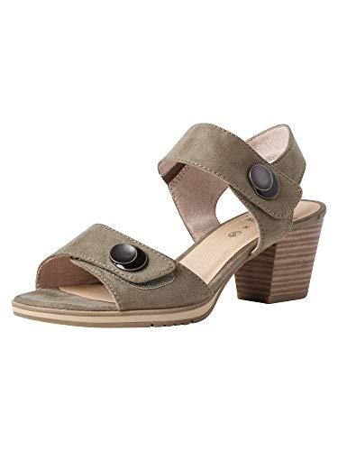 Jana Femmes Sandale à Talon 8-8-28308-26 727 Largeur H Taille: 41 EU