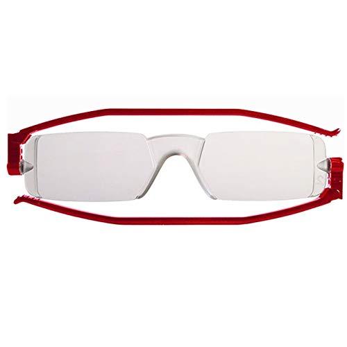 Gafas de Lectura Plegables Nannini Compact 1 (Rojo, 2.00)
