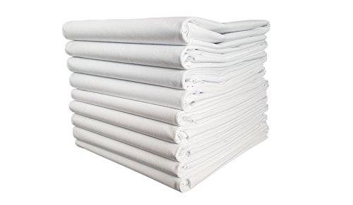 TM Maxx Bettlaken Laken Haustuch Betttuch Tischdecke 3 Größen 100% Baumwolle 180g/m2(4) (140x200)