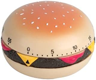 Kikkerland Hamburger Kitchen Timer