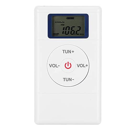 Weikeya Ideal Portátil Radio, Mononucleosis infecciosa Auricular Enchufe Poder Consumo Tamaño Diseño Estéreo Producción Abdominales por Casa