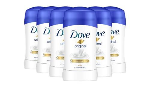 Dove Deostick 6er Pack gegen Achselnässe und Körpergeruch 48 Stunden Schutz (6 x 40 ml)